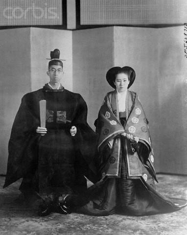 Prince Mikasa with Wife